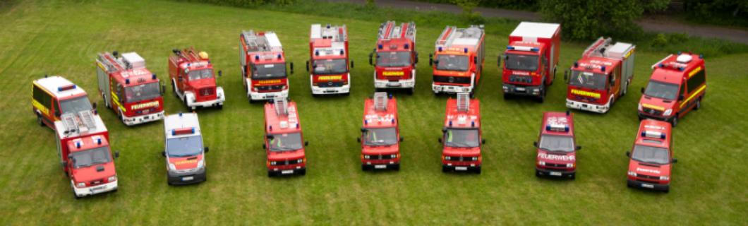 Feuerwehrfahrzeuge in der SG Hollenstedt